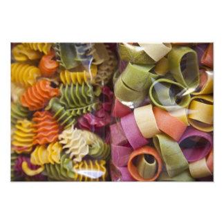Multi colored pasta, Torri del Benaco, Verona Photo Art