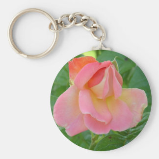 Multi-colored Pink Rose Keychains