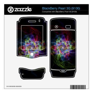 Multi Colored Pinwheel BlackBerry Decal