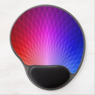 Multi-Colored Prism Design Gel Mouse Pad