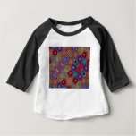 Multi-colored Quilt Pattern Baby T-Shirt