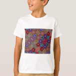 Multi-colored Quilt Pattern T-Shirt