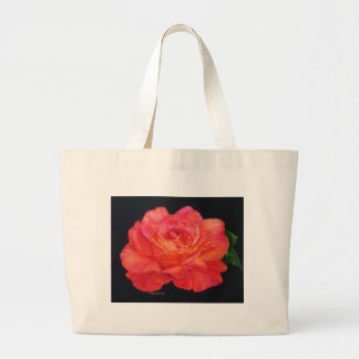 Multi-colored Rose Oils On Canvas-print Tote Bags
