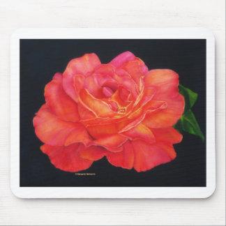 Multi-colored Rose Oils On Canvas-print Mousepad