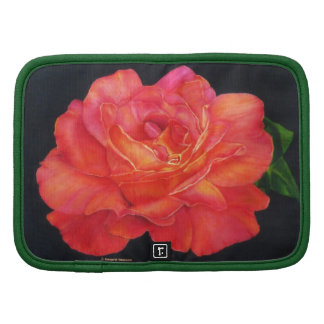 Multi-colored Rose Oils On Canvas-print Organizers