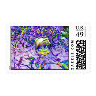 Multi Colored Rose Postage