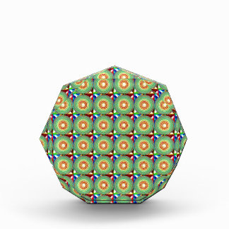 """""""Multi Colored Round and Square Pattern"""" Awards"""