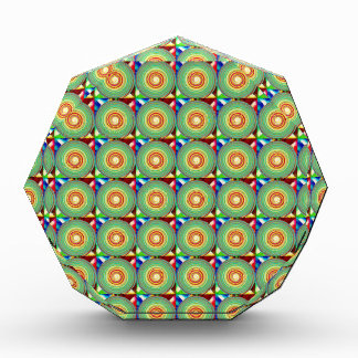 """""""Multi Colored Round and Square Pattern"""" Award"""
