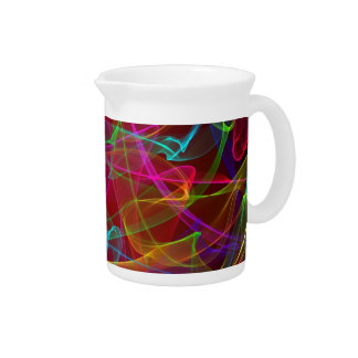 Multi-Colored smoke Drink Pitcher
