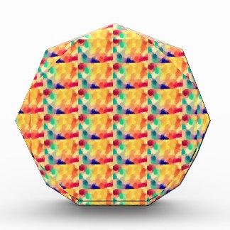 Multi Colored Square Art Acrylic Award
