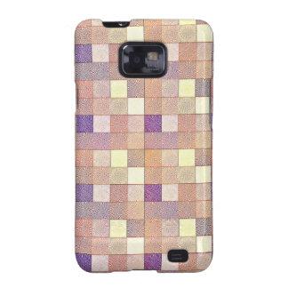 Multi Colored Square. Geometric Art Samsung Galaxy SII Cover