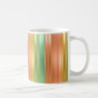 Multi Colored Stripe Coffee Mug