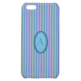 Multi Colored Stripes Pattern Iphone 5 Case