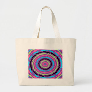 Multi Colored Swirl Abstract Tote Bags