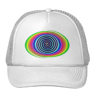 Multi-Colored Swirls Trucker Hat