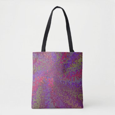 Beach Themed Multi-colored Totebag Tote Bag