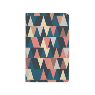 Multi-colored triangle notebook