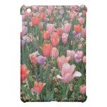 Multi Colored Tulips Cover For The iPad Mini
