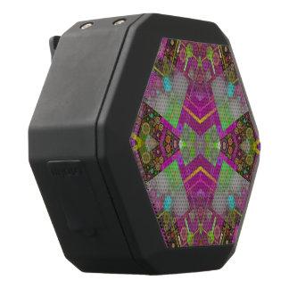 Multi Colors Abstract Black Bluetooth Speaker