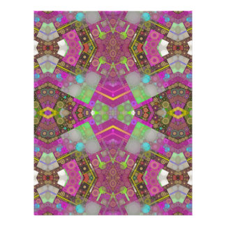 Multi Colors Abstract Letterhead