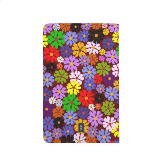 Multi Colors Blossoms Decorative Designer Journal
