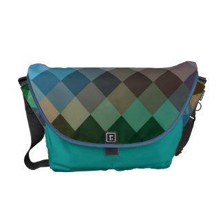 Multi Colors Diamond Seamless Pattern 2 Messenger Bag