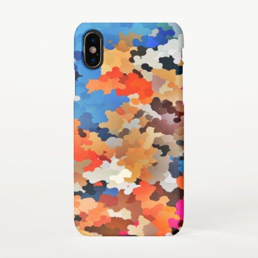 multi-colors iPhone X Case