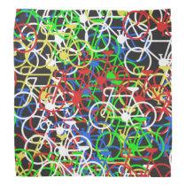 Multi-Colour Bicycle - Cyclist's Bandana
