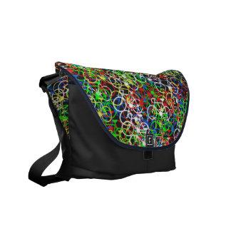 Multi Colour Bicycle Messenger Bag