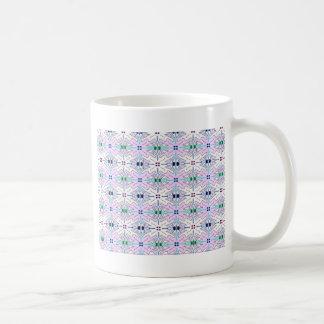 Multi colour tesslation pattern No1. Coffee Mug