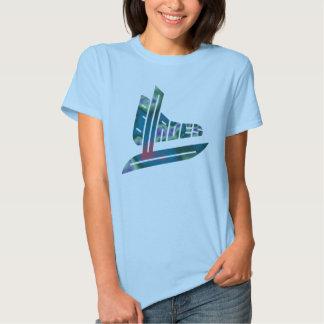 Multi-Coloured Blades Tee Shirt