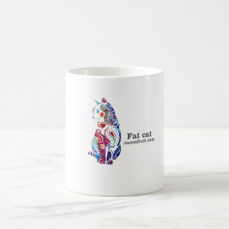 multi -coloured cat merchandise coffee mug