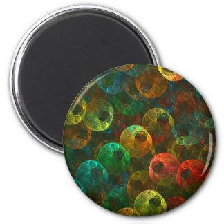 Multi Coloured Eyes Magnet