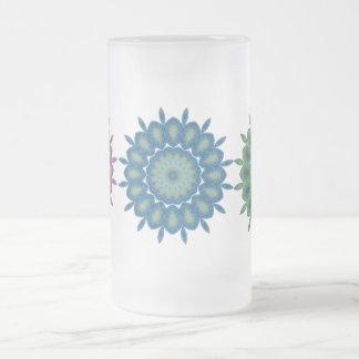 MULTI COLOURED GLASS MUG