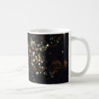 Multi Coloured Ink Patterns Coffee Mug
