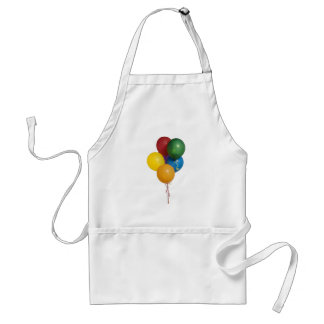 Multi Coloured Party Balloons Apron