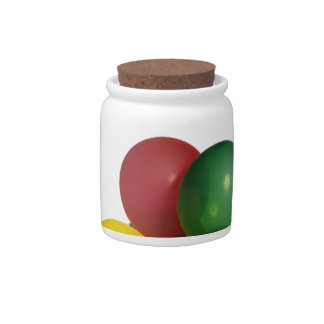 Multi Coloured Party Balloons Candy Jar