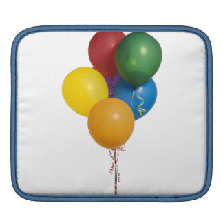 Multi Coloured Party Balloons Sleeve For iPads