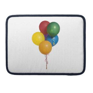 Multi Coloured Party Balloons Sleeves For MacBooks