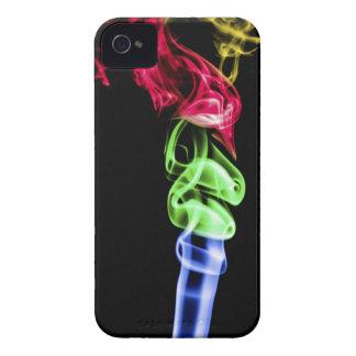 Multi-coloured Smoke Art iPhone 4 Cover