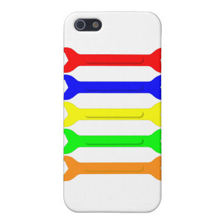Multi-Coloured Spanners iPhone SE/5/5s Cover