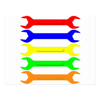 Multi-Coloured Spanners Postcard
