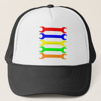 Multi-Coloured Spanners Trucker Hat