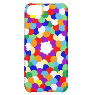 Multi Coloured Spotted iPhone 5C Case