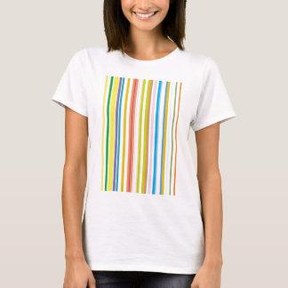 Multi Coloured Stripes T-Shirt