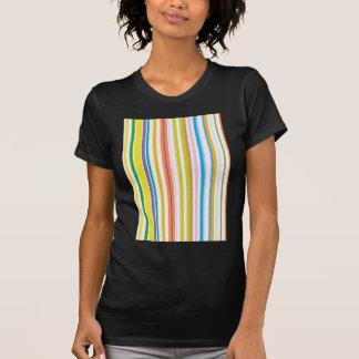 Multi Coloured Stripes T Shirt