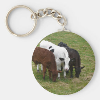 Multi-COW-tural Keychains