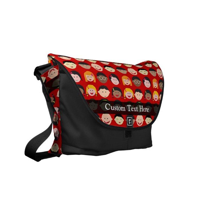 Multi-Cultural Children Courier Bag