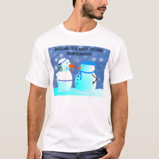 Multi-cultural neighborhood T-Shirt