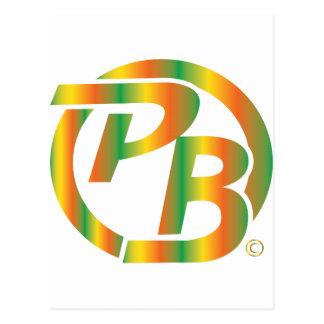 Multi de la identificación del logotipo de Pecky Tarjetas Postales
